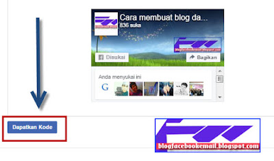 cara membuat likebox facebook di sidebar blog