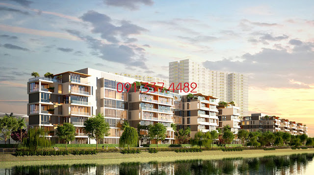 Dự án Sunshine Golf View Sky Villas tại khu vực gần cầu Nhật Tân
