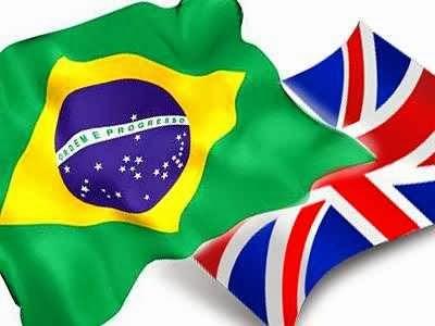bandeiras, brasil, inglaterra. Dicionário Inglês Português