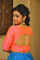 Nithya Shetty in Orange Choli at Kalamandir Foundation 7th anniversary Celebrations ~  Actress Galleries 063.JPG