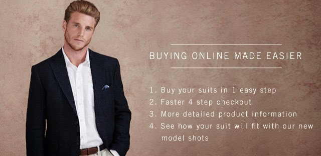 Buying Men's Suits Online