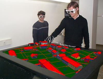 virtual reality, 3d model
