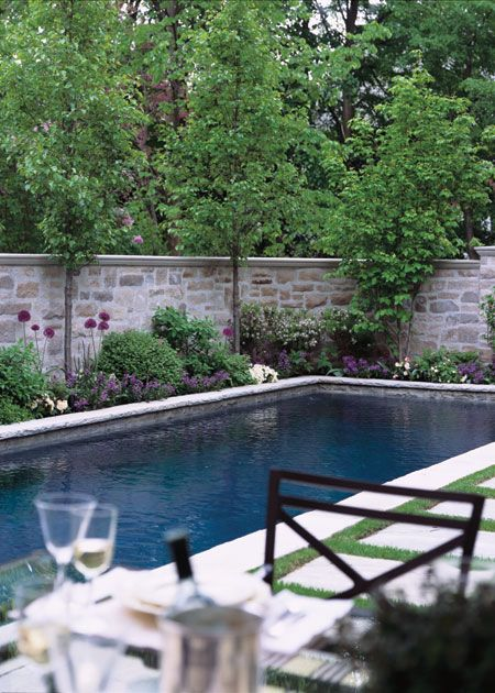 Gorgeous outdoor living spaces to inspire for Garden pool facebook