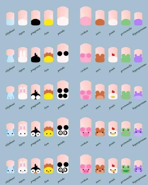 20 Diseños de Uñas de Animales - Paso a Paso