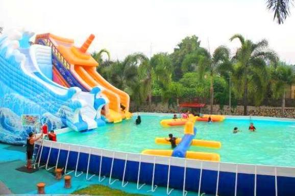 kolam air panas jasin melaka theme park 1