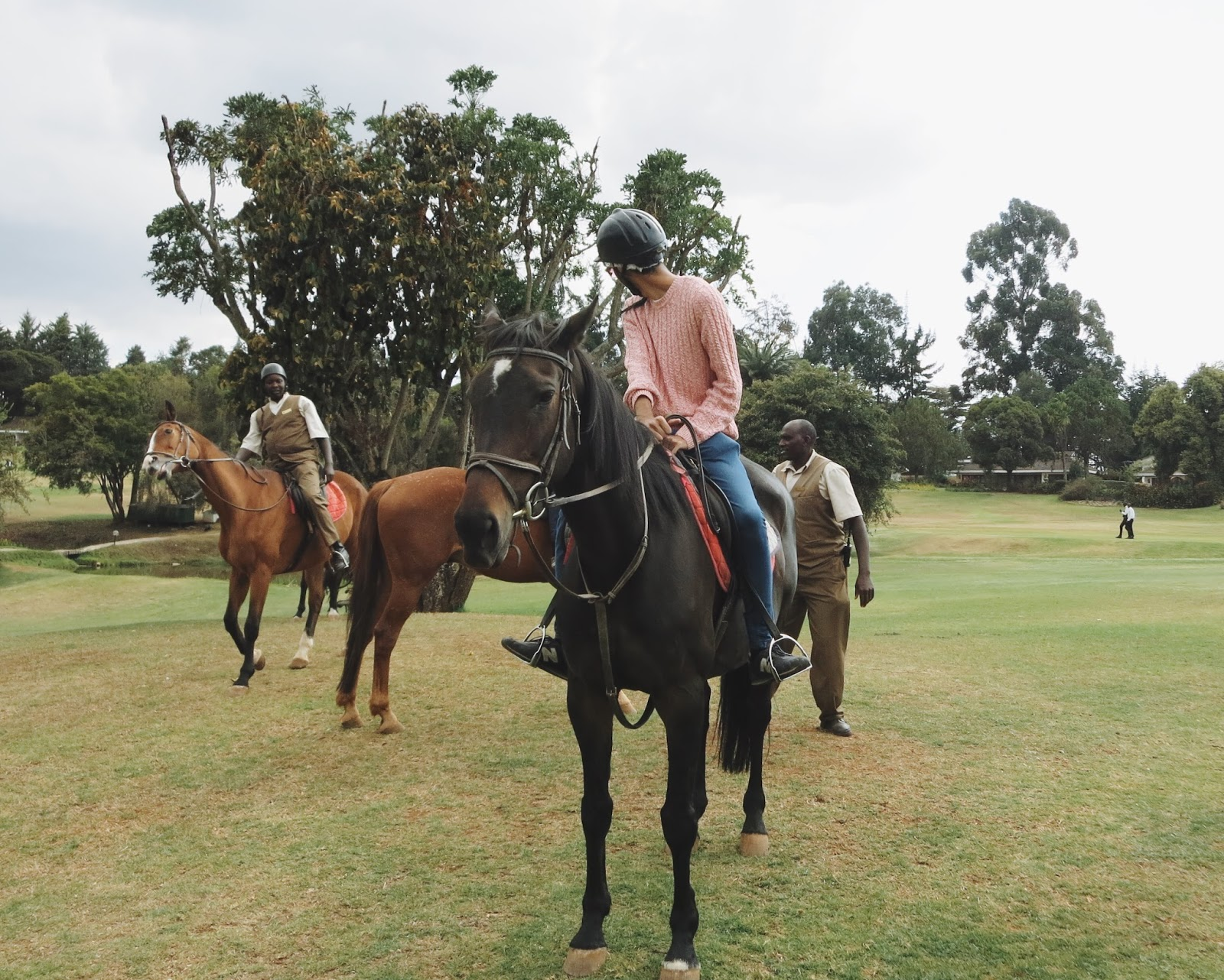 Mount Kenya Safari Club Horse Riding