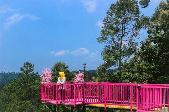 Lokasi Bukit Sakura Kemiling