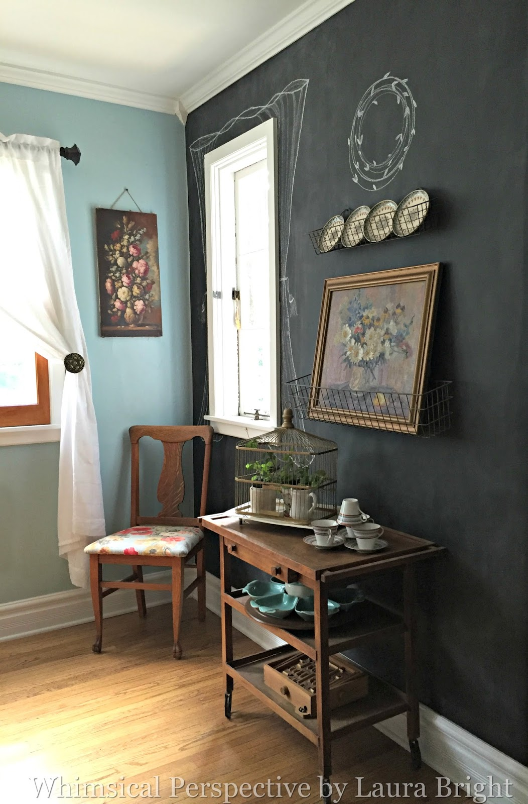 Whimsical Perspective Flea Market Style Decorating