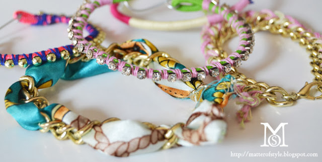 arm party diy, diy, my diy, fashion diy, diy bracelets, rope bracelets, scarf bracelet, ball chain bracelet, crystal chain bracelet, yarn bracelet, braided bracelets