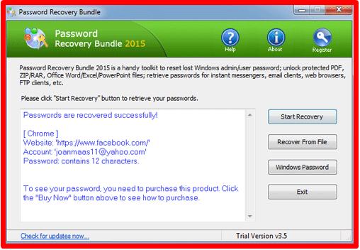 Facebook Forgot Password Code
