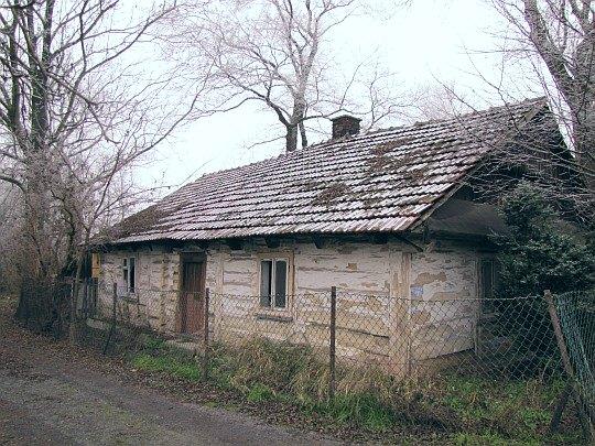 Stara wiejska chata.