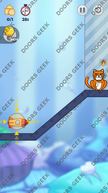 Hello Cats Level 47 Solution, Cheats, Walkthrough 3 Stars for Android and iOS