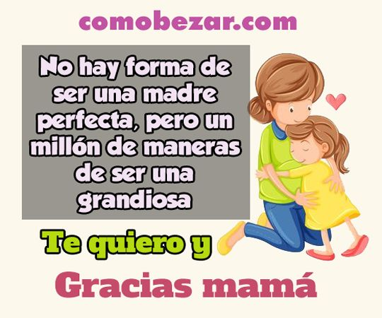 Gracias Mamá Frases De Agradecimiento Para Mamita
