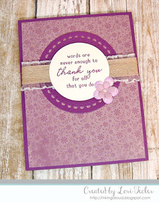 Words Are Never Enough card-designed by Lori Tecler/Inking Aloud-stamps and dies from Reverse Confetti