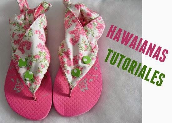 Como hacer Zapatillas Hawaianas de Macrame