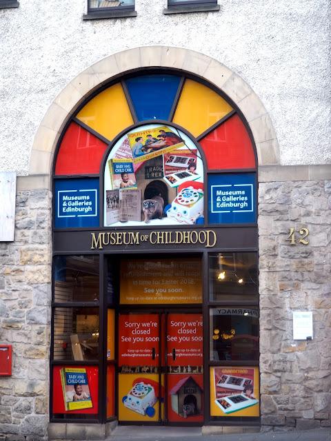 Museum of Childhood, Royal Mile, Edinburgh