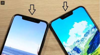 Apa Yang Di Maksud Smartphone Berponi Atau Notch ?