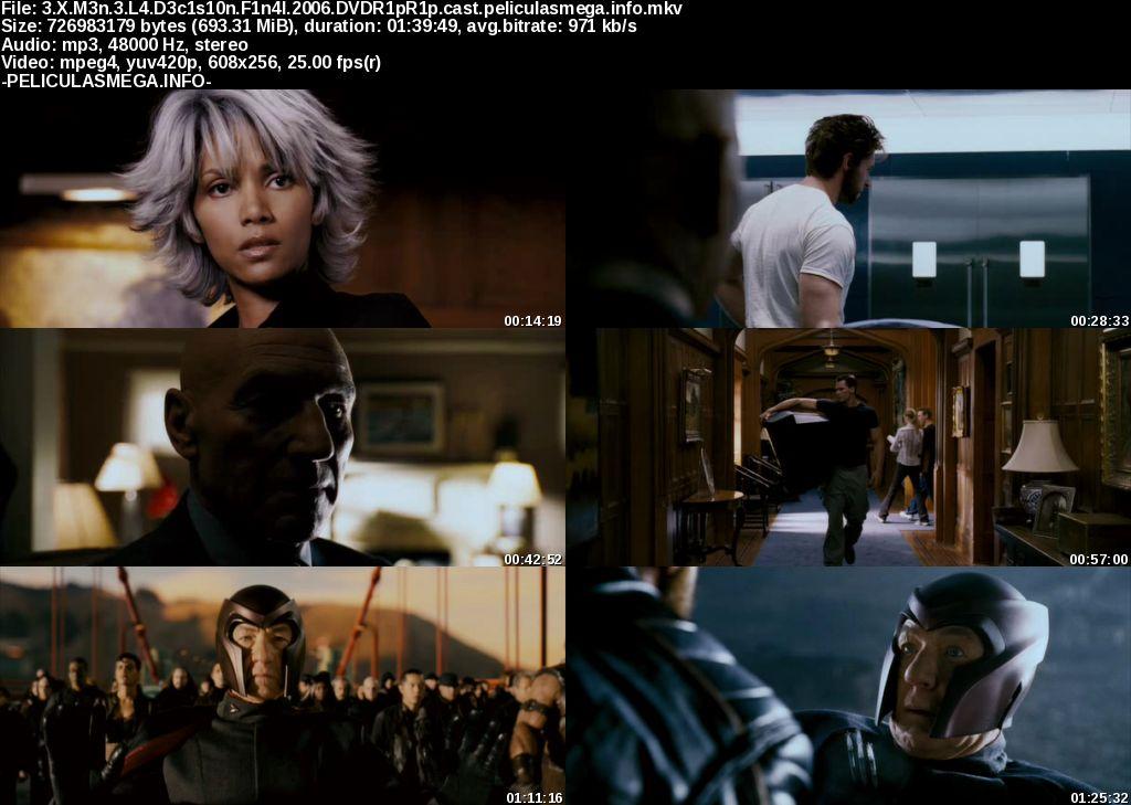 Descargar X-Men: La decisión final Castellano por MEGA.