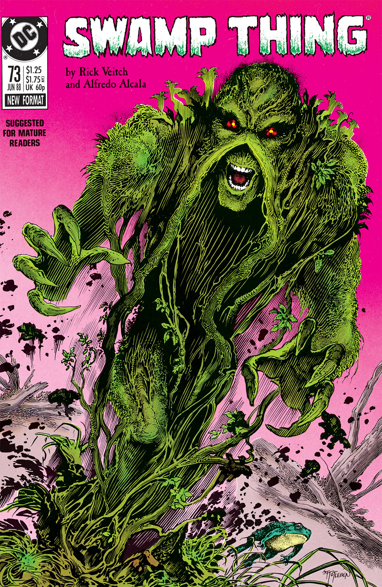 Swamp Thing (1982) Issue #73 #81 - English 1