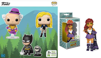 Emerald City Comic Con 2019 Exclusive DC Comics Vinyl Figures by Funko