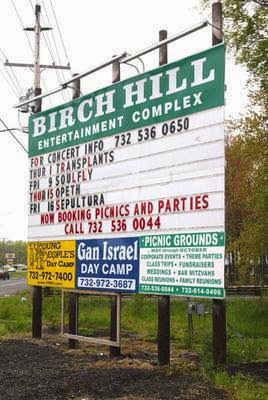 The Birch Hill Nightclub sign on Route 9 south Old Bridge, NJ