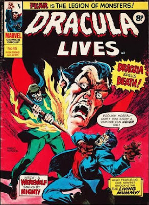 Marvel UK, Dracula Lives #45