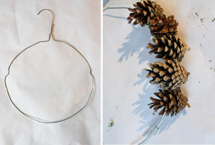 Pointless Pretty Things 12 Handmades Of Christmas Pinecone Wreath