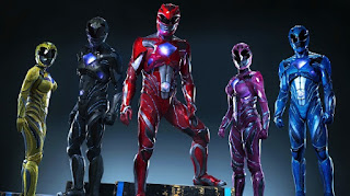 power rangers: un vistazo mas cercano a los nuevos trajes de los heroes