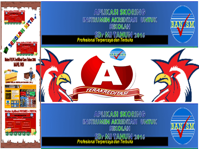Download Aplikasi Skorsing Akreditasi Sekolah SD/MI Update 2017/2018