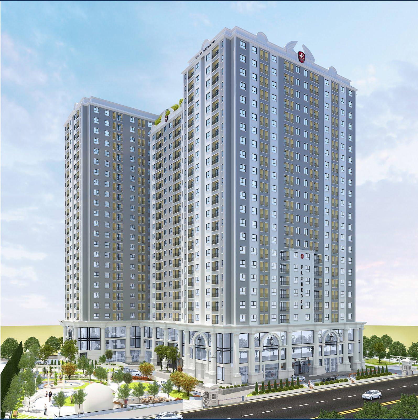Dự án Florence do PHục Hưng Holdings làm chủ đầu tư