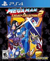 Mega Man Legacy Collection 2 Game Cover PS4