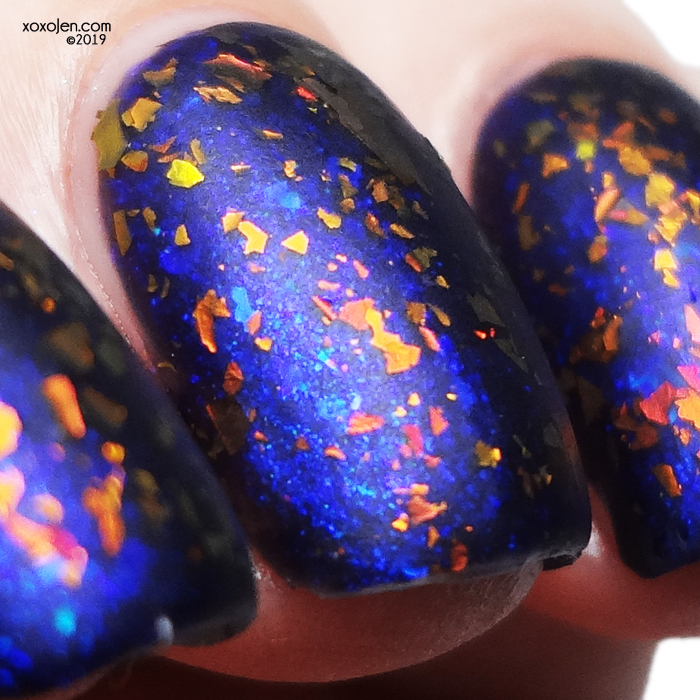 xoxoJen's swatch of Tonic In Cold Blood