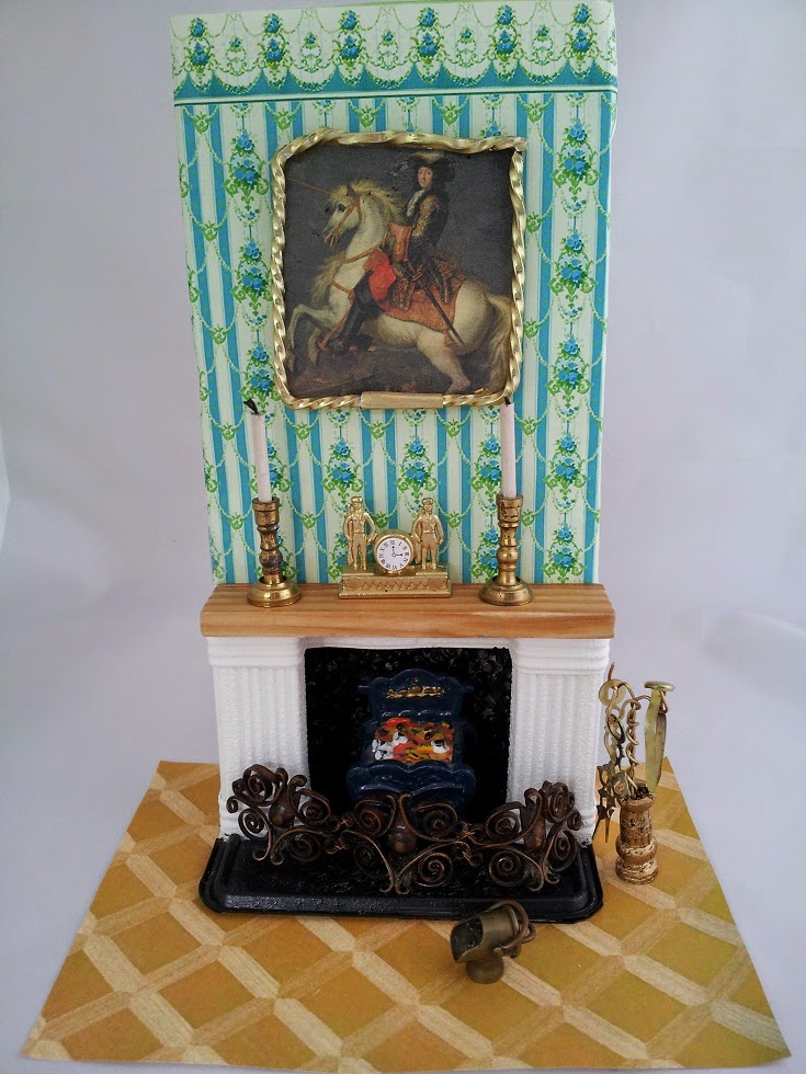 Dollhouse Escapes Fireplace With Chimney Breast