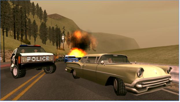 Game GTA San Andreas Mod