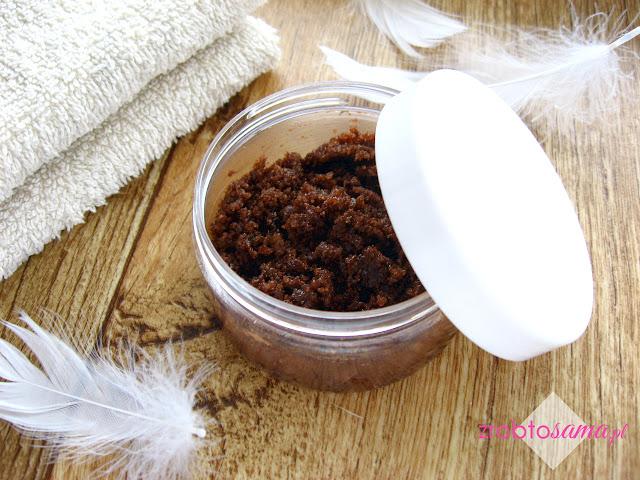 Jak zrobić domowy kokosowo-czekoladowy peeling cukrowy do ciała DIY