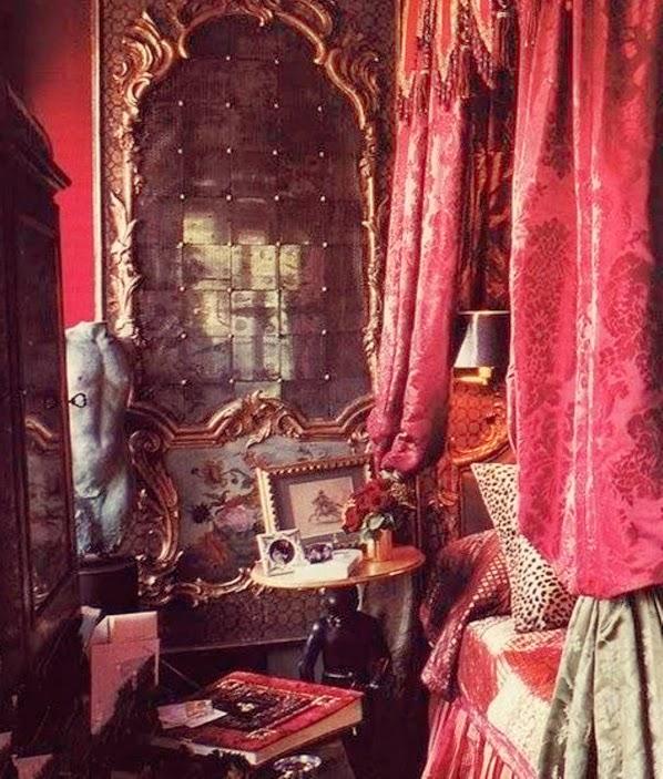 Decoração Gótica: Quarto À Moda Vitoriana Inspirações