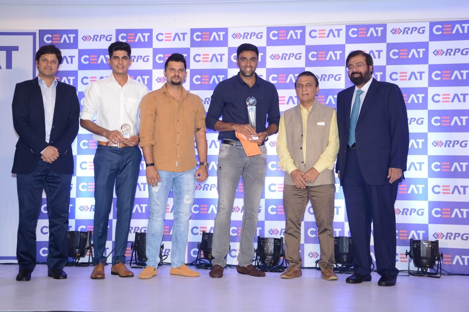Ceat Cricket Rating Felicitates R Ashwin As International