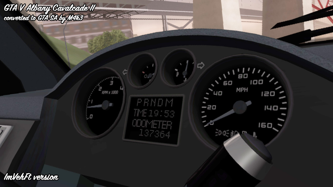 M4k3 mods: [REL]GTA 5 Albany Cavalcade II
