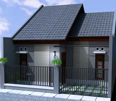 Gambar Pagar Rumah Minimalis Kecil Modern