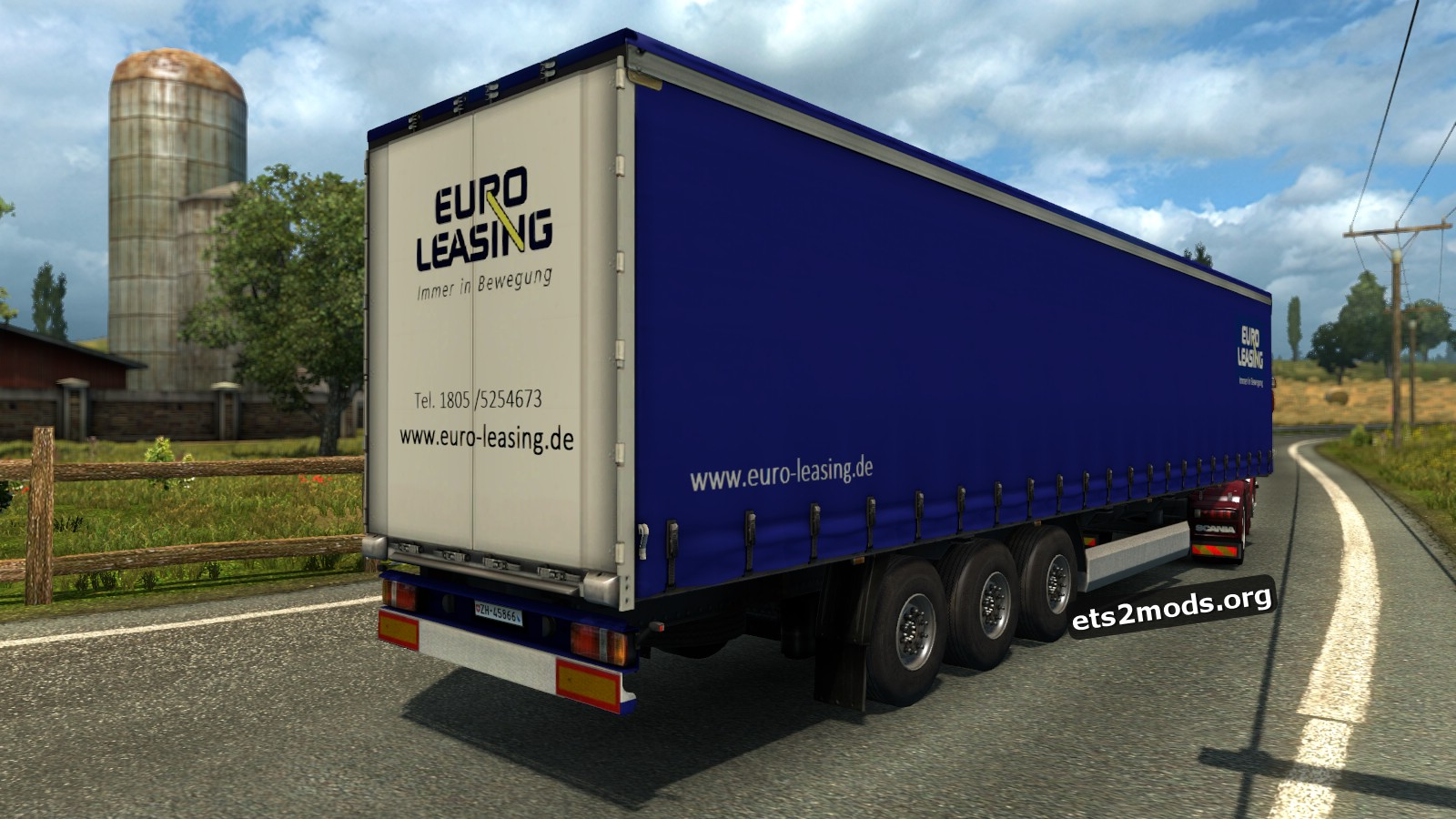 Standalone Trailer Euro-leasing