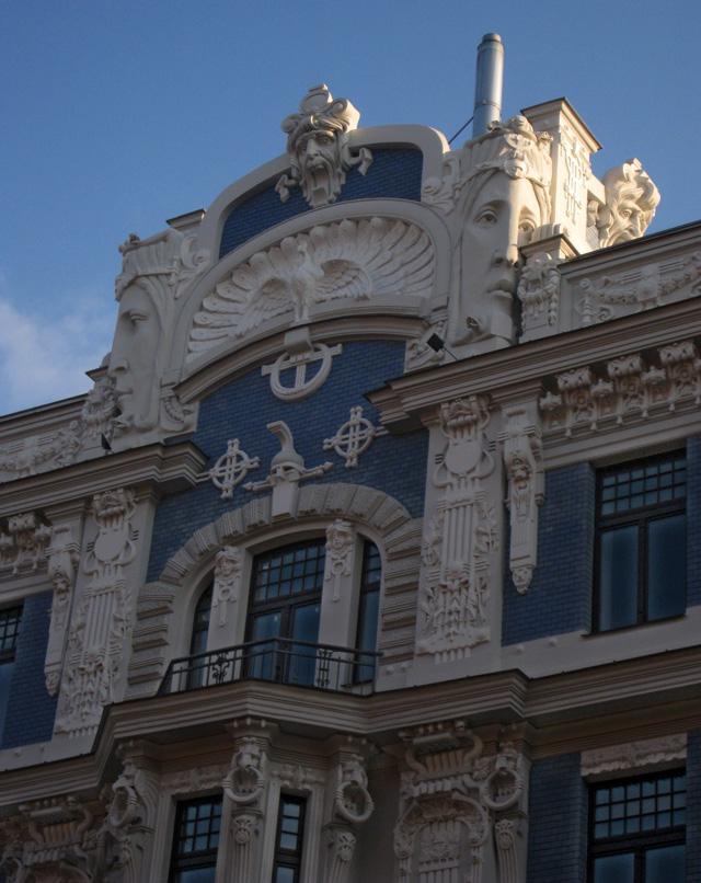 Uno de los edificios más fotografiados de la calle Elizabetes