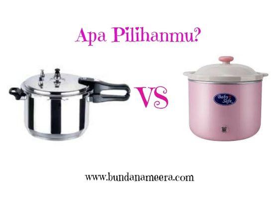 Cara mudah mengempukkan daging dengan panci presto atau slow cooker, perbandingan masak panci presto dan slow cooker