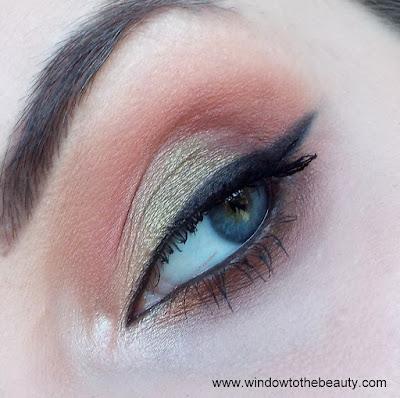 green coral makeup