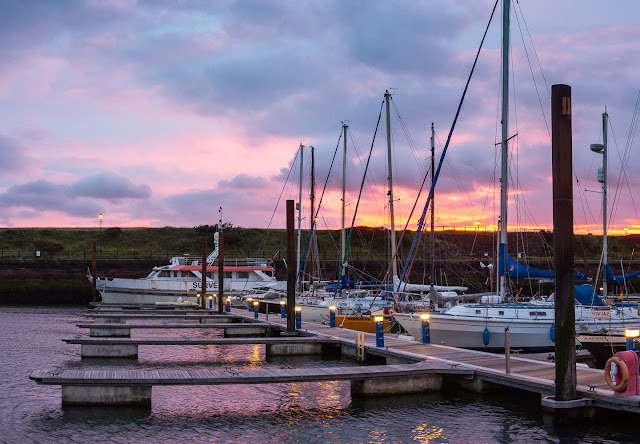 Photo of Maryport Marina sunset