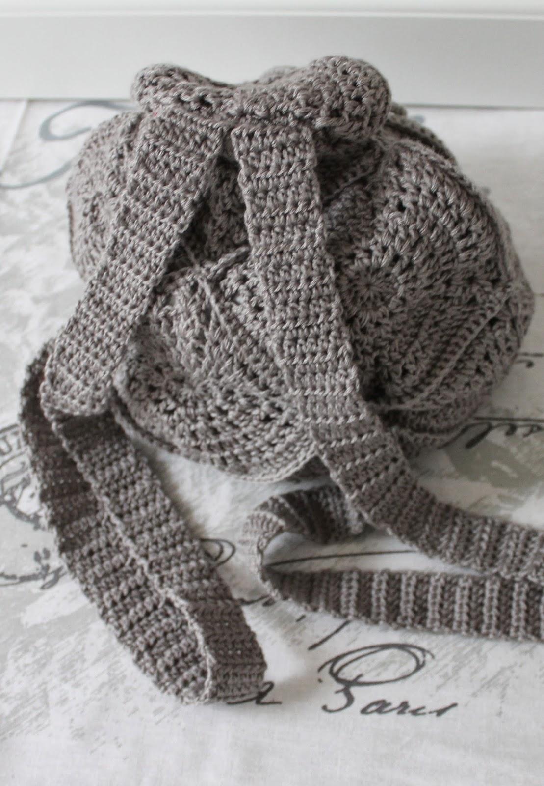 Create Your Life Granny Rucksack Crochet Backpack