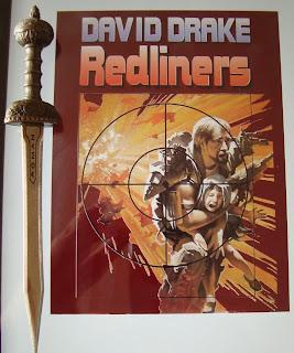 Portada del libro Redliners, de David Drake