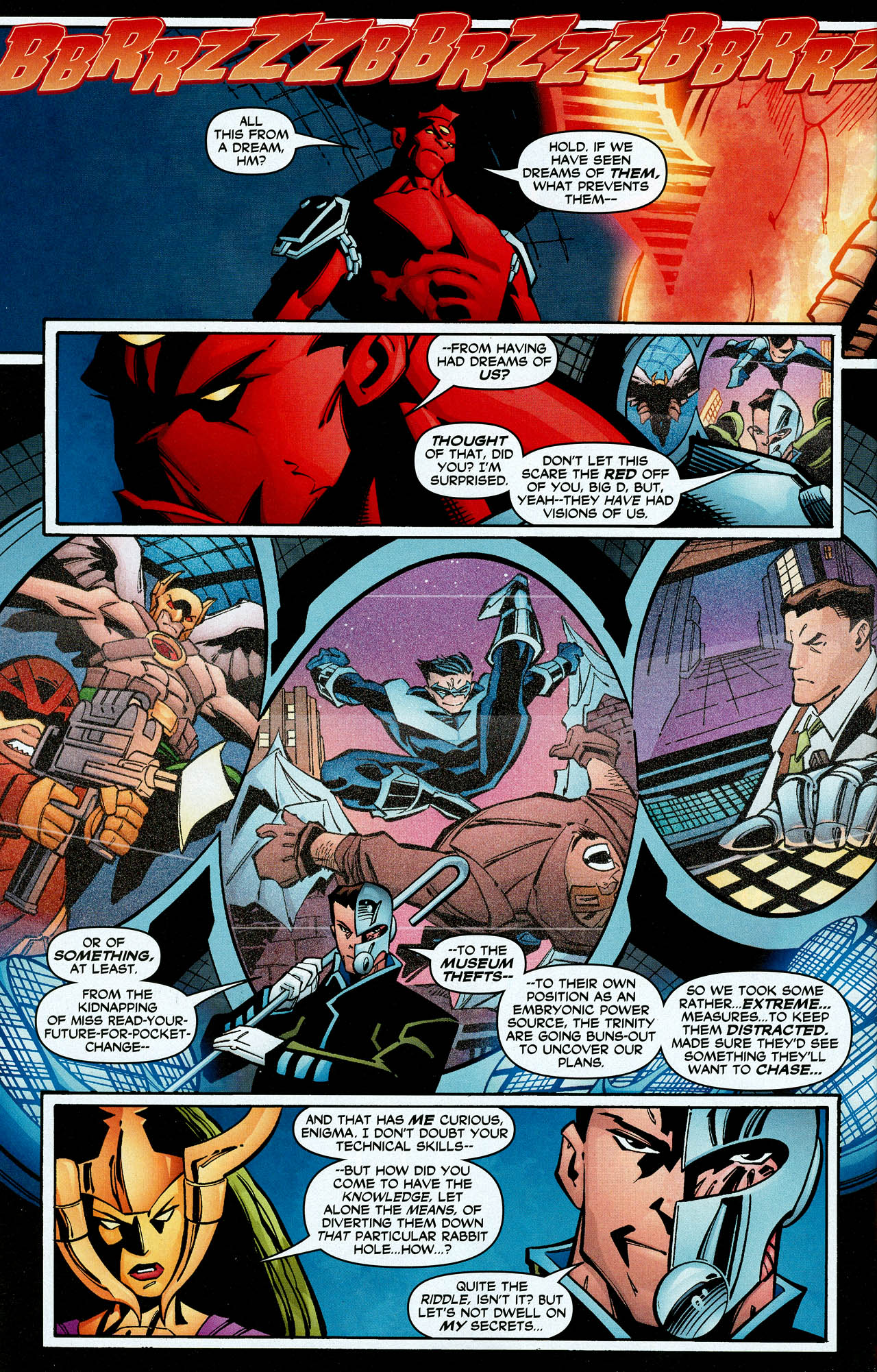 Read online Trinity (2008) comic -  Issue #8 - 30