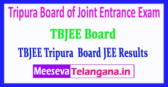 TBJEE Tripura Board of Joint Entrance Exam TBJEE Results 2018