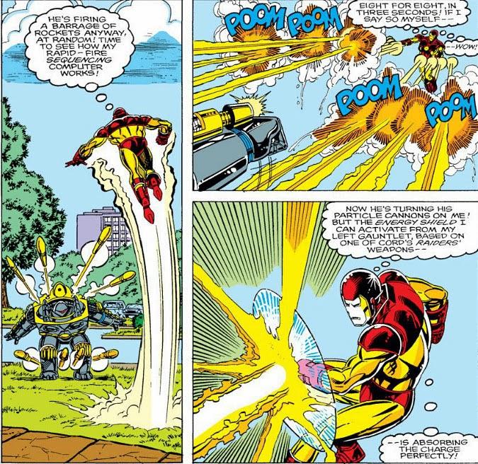 The Peerless Power of Comics!: The New Iron Man!