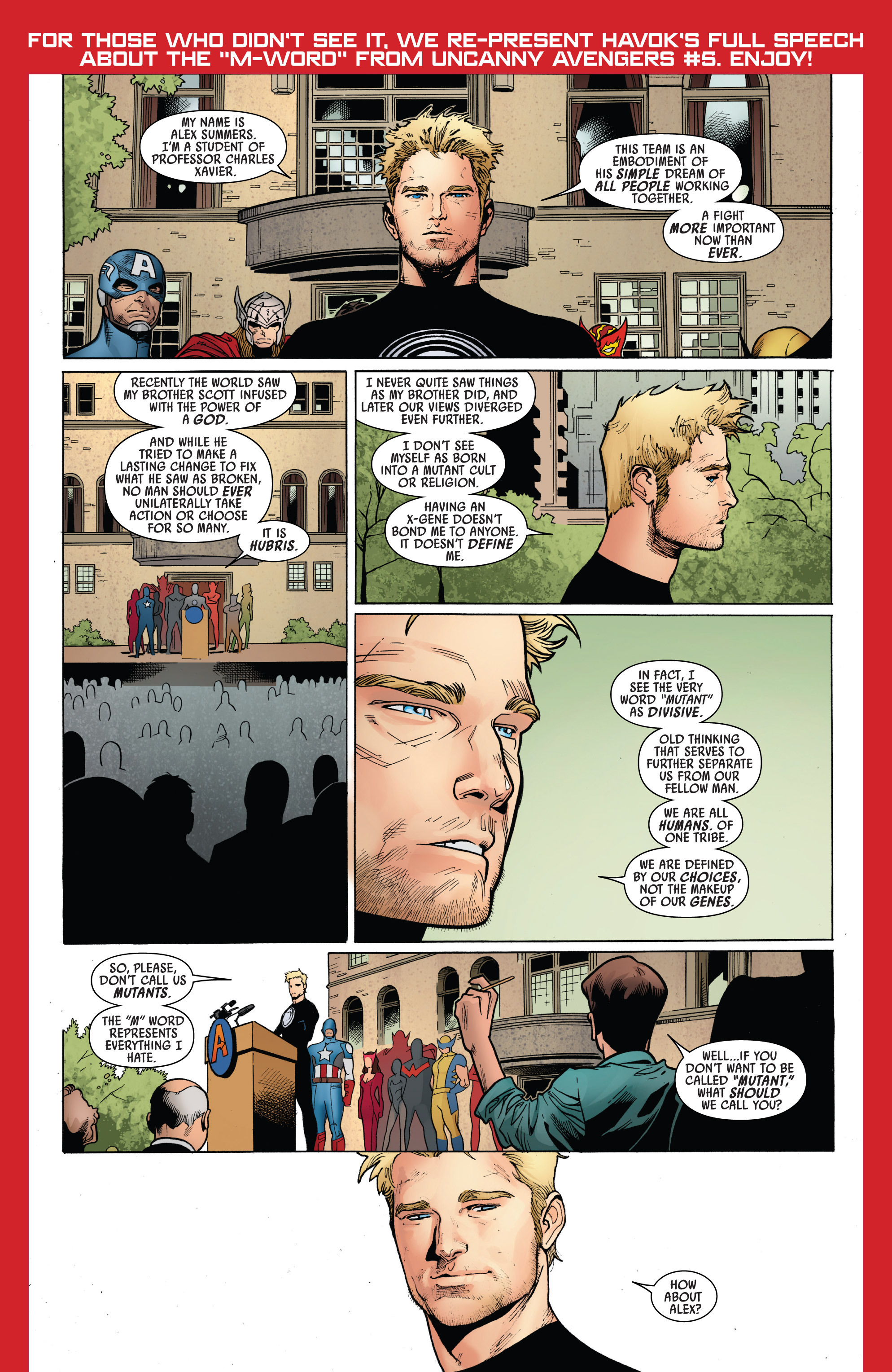 Read online All-New X-Men (2013) comic -  Issue # _Special - Out Of Their Depth - 67
